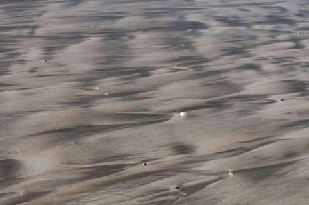 meanders: Beach patterns caused by the retrating tide leaving rivulets and meanders in the sand,