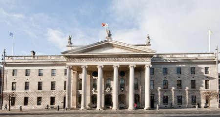 irish easter: Dublin General Post Office on O
