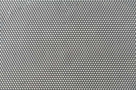 embossing: background in silver, with embossing heart structure Stock Photo