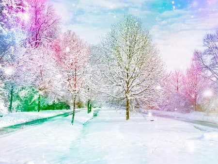 broaching: winter wonderland - Images