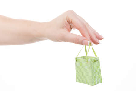 low prizes: little green shopping bag