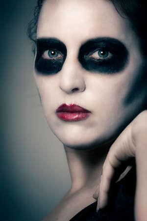 inhumane: halloween woman