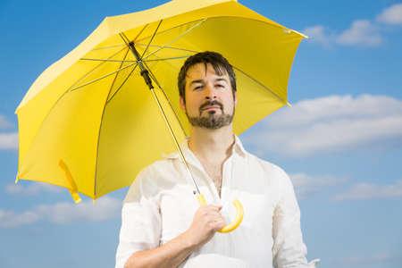closing time: My yellow umbrella