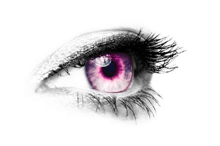 purple female eye - color key