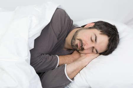 pillow sleep: sweet Dreams Stock Photo