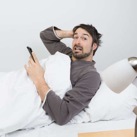 snore: snore away Stock Photo