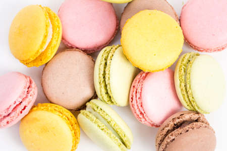 background macaroons Stock Photo