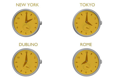 clock to world photo