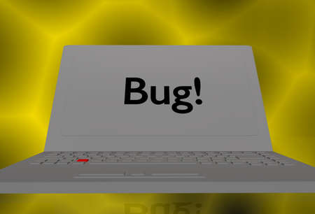 compiler: bug in a computer