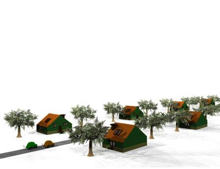 terraced: terraced houses