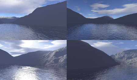 mountain landscape Stock Photo - 5394342
