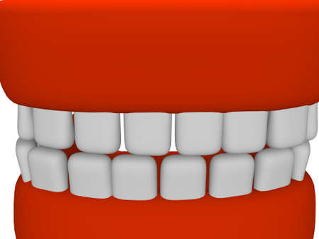dentures: dentures Stock Photo