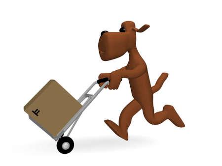 dog parcels photo