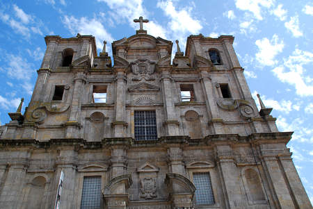 Church of St. Lawrence, all the locals call it the Igreja dos Grilos Stock Photo