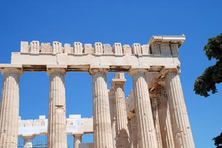 Acropolis of Athens - The Parthenon is a former temple, on the Athenian Acropolis, Greece, dedicated to the goddess Athena