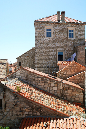 Rooftops in Dubrovniks Old City
