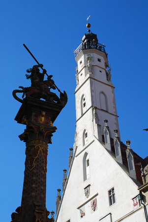 Rothenburg ob der Tauber, Germany: The Town Hall Tower is the tallest tower in the city with a viewing platform