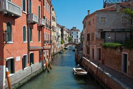 Venice, Italy: View of Canal Rio de S. Vio in Venice