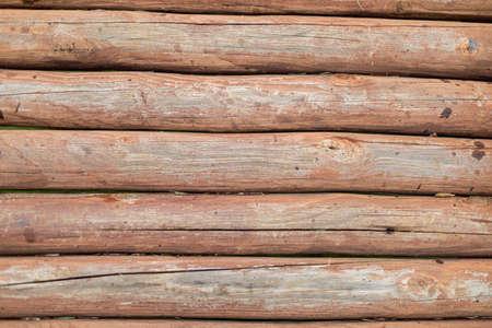 Horizontal wood fence texture