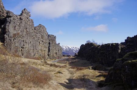 rift: Rift valley in Iceland