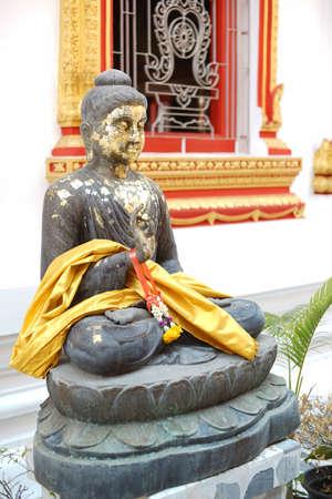 lord buddha: Lord buddha statues in Wat Nang Phya at Thailand.