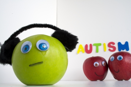 Autism Apple Series Stock Photo - 24072334