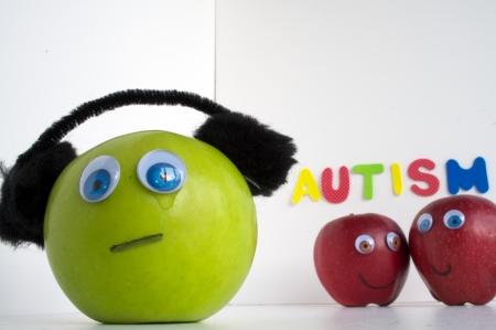 Autismus Apple-Serie Standard-Bild - 24072334