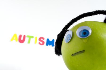 Autismus Apple-Serie Standard-Bild - 24072344