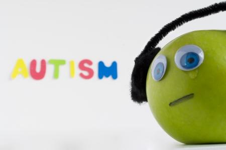 Autism Apple Series Stock Photo - 24072345