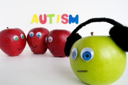 Autismus Apple-Serie Standard-Bild - 24072368