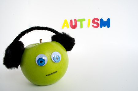 Autism Apple Series Stock Photo - 24072371