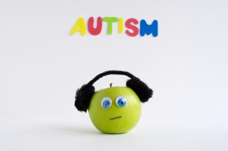 Autismus Apple-Serie Standard-Bild - 24072385