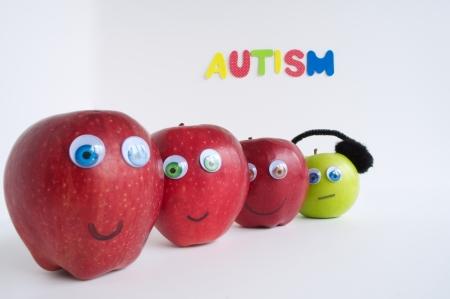 Autismus Apple-Serie Standard-Bild - 24072396