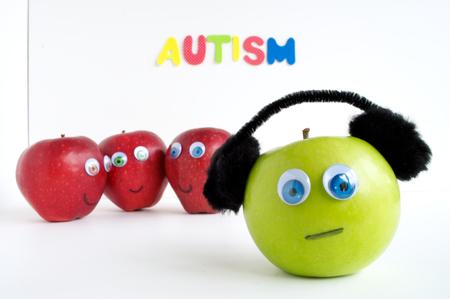 Autismus Apple-Serie Standard-Bild - 24072404