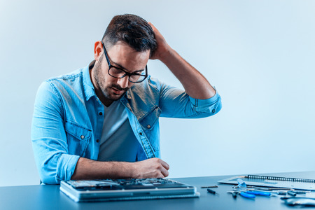 Technician puzzled with hardware problem