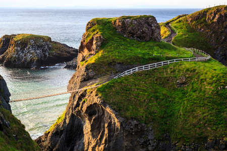 northern ireland: Carrick-A-Rede Rope in Northern Ireland