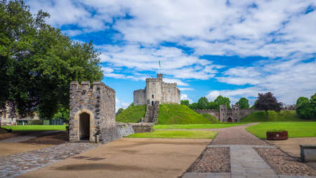 gothic revival: Cardiff Castle  is a medieval castle and Victorian Gothic revival mansion located in the city centre of Cardiff, Wales. Editorial