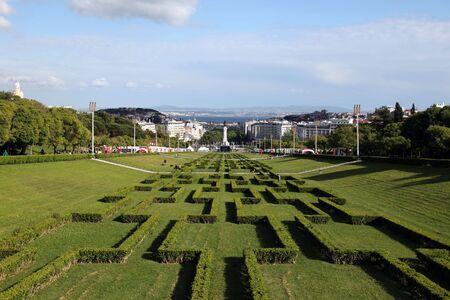 Parque Eduardo VII in Lisbon photo