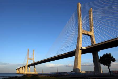 Ponte Vasco da Gama in Lisbon Stock Photo - 8626143