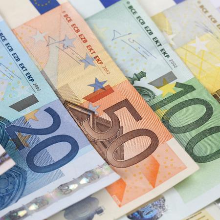 billets euro: Tous les billets en euros courants de l'Union monétaire européenne