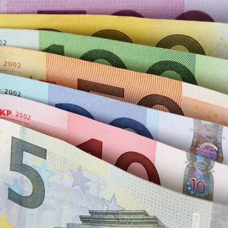 european union currency: Todas las notas actuales de Euro de la Uni�n Monetaria Europea uno tras otro