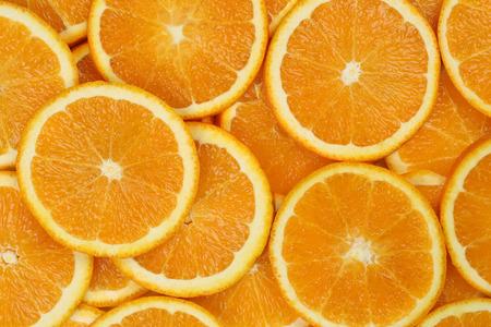 감귤류의 과일: Background made from sliced orange citrus fruits
