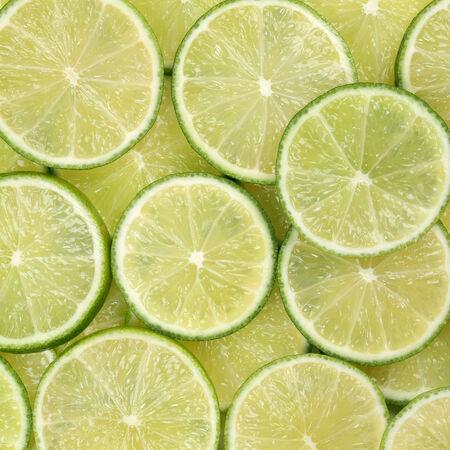 감귤류의 과일: Background made from fresh lime citrus fruits
