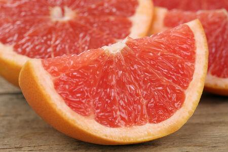 감귤류의 과일: 건강한 식사 슬라이스 자몽 감귤류 스톡 사진