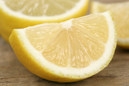 감귤류의 과일: 건강한 식사 슬라이스 레몬 감귤류