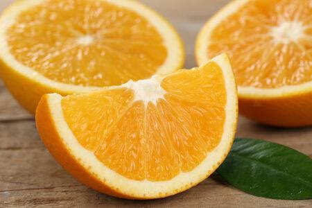 naranjas: La alimentación saludable rodajas de naranja fresco cítricos