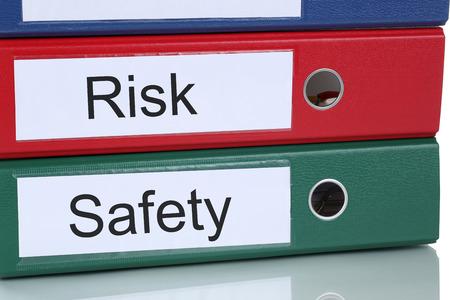 Risk en veiligheidsmanagement analyse evaluatie in bedrijf business concept Stockfoto - 39299725