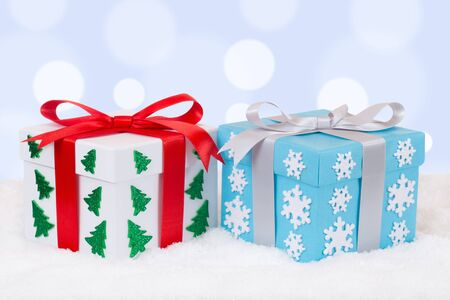 christmas gifts: Christmas gifts decoration with copyspace for your own text