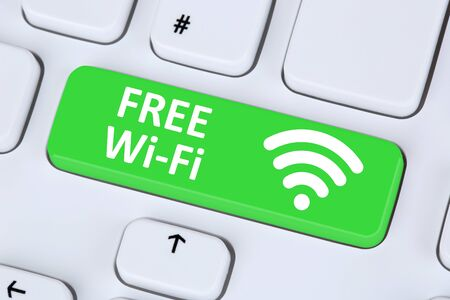 free: Free Wi-Fi or WiFi hotspot connection internet network computer