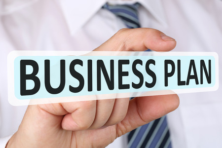 founding: Businessman business plan concept for successful start up company founding